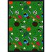 Multi-Sport Green Kids Rug