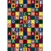 Just for Kids Kid Essentials Educational Kids Rug