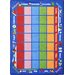 Educational Celebrations Calendar Kids Rug