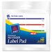 Label Pads, 160/Pack