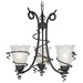 Empire 3 Light Chandelier