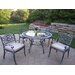 Mississippi Hummingbird 5 Piece Dining Set with Cushions
