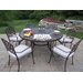 Mississippi Dining Set with Cushions