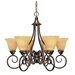 Moulan 6 Light Chandelier