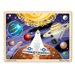 48-pieces Space Voyage Jigsaw Set