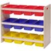 Dowel Tray Storage Rack with Trays