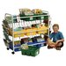 Leveled Reading Book Browser Cart with Display Racks