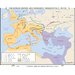 World History Wall Maps - Roman Empire & Germanic Migrations