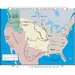 World History Wall Maps - Western Expansion in U.S.
