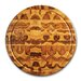 "18"" Round Chopping Block with Juice Canal"