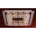 Petula 36 Light Semi Flush Mount