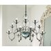 Danieli 12 Light Chandelier Bulb Type 12x60 E12