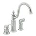 Waterhill One Handle Widespread High Arc Kitchen Faucet