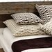 "Neutral Territory Links 26"" Decorative Pillow in Taupe"