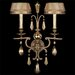 Golden Aura 2 Light Wall Sconce
