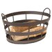 Wrought Iron Shaker Log Bin