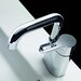 Cromo Single Hole Bathroom Faucet with Single Handle