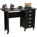 VHZ Office 43&quot; W Mobile Craft Computer Desk