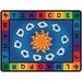 Literacy Sunny Day Learn and Play Kids Rug