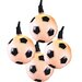 10 Light Soccer Ball Light Set