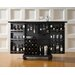 Cambridge Expandable Bar Cabinet in Black