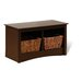 Fremont Wood Cubbie Storage Bench
