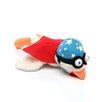 Chicken Design Sling Shot Plush Dog Toy