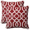 New Geo Corded Throw Pillow