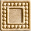 "Romancing the Stone 2"" x 2"" Compressed Stone Dot Insert in Ivory"