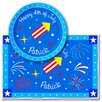 Rocket Personalized Meal Time Plate Set