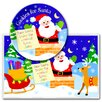 Cookies for Santa Personalized Meal Time Plate Set