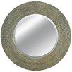 Virtuoso Wall Mirror in Silver