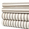 Ash Draper Stripe Full Sheet Set