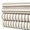 Ash Draper Stripe Queen Sheet Set