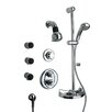 Thermostatic Shower Faucet Set with Hand Shower and Body Sprays