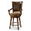 Waverly Place Memory Swivel Counter Stool in Cherry