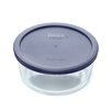 7 Cup Storage Plus® Round Dish With Plastic Cover
