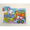 Sea Life and Traffic Foam Jigsaw Puzzle Set
