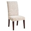 Classic Seating Center Match Fleur-de-lis Tapestry Dining Chair Slipcover