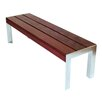 Etra Large Wood and Metal Bench