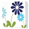Imagination - Simple Floral Stretched Wall Art