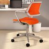"33.25"" Mesh QiVi Office Chair with Arms"