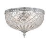 Bohemian Crystal Flush Mount