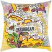 Canvas Print The Caribbean Pillow