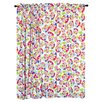 Heart Throb Cotton Rod Pocket Curtain Panel Pair
