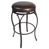 "Lakeview 30"" Backless Bar Barstool in Brown"