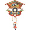 Clock with Swinging Teeter Totter Girl