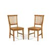 Arts and Crafts Dining Chairs (Set of 2)
