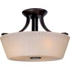 Finesse 3 Light Semi Flush Mount