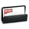1000 Series Classic Leather Business Card Holder in Black